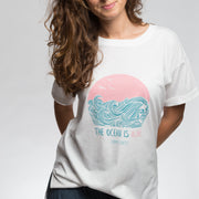 The Ocean is Alive Oversized Tee | Happy Earth Apparel