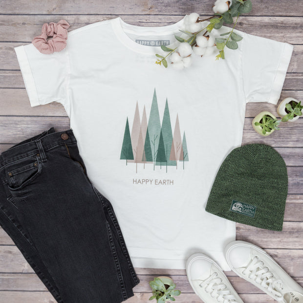 Juniper Oversized Tee | Happy Earth Apparel