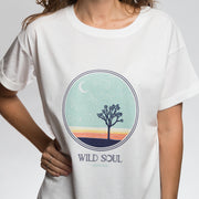 Wild Soul Oversized Tee | Happy Earth Apparel