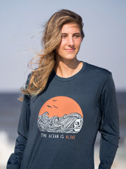 The Ocean is Alive | Happy Earth Apparel