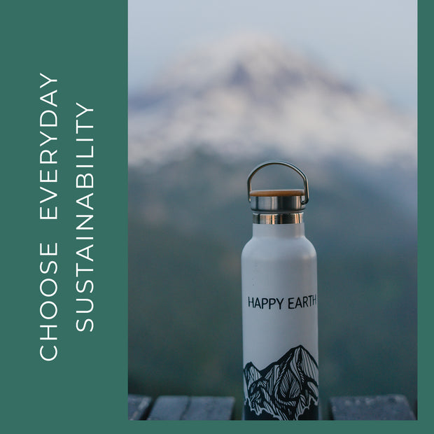 Visual - Choose Everyday Sustainability - Water Bottle