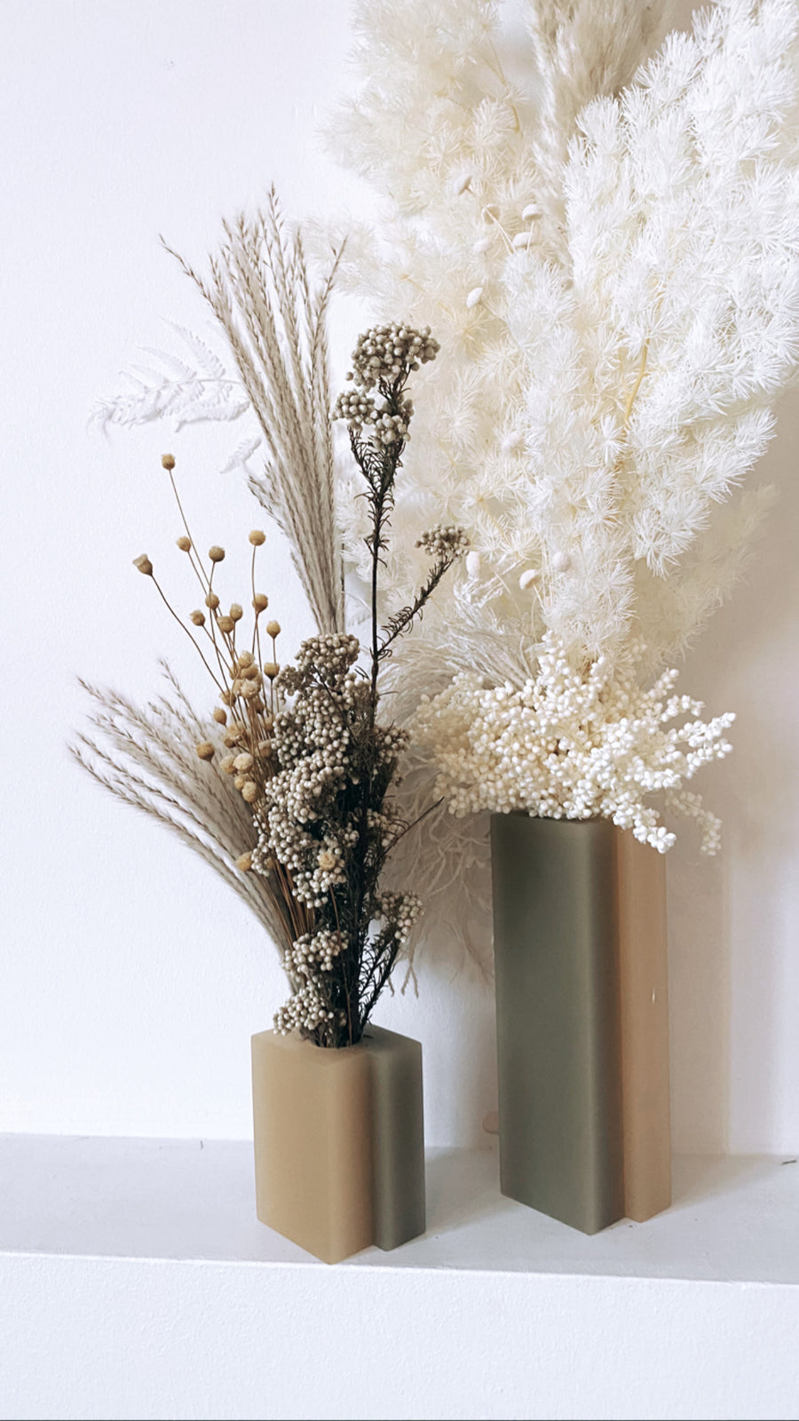 vase arrangements - filled