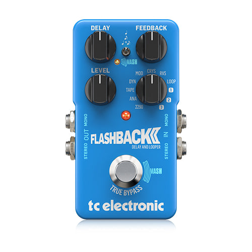 TC ELECTRONIC FLASHBACK 2 DELAY & LOOPER