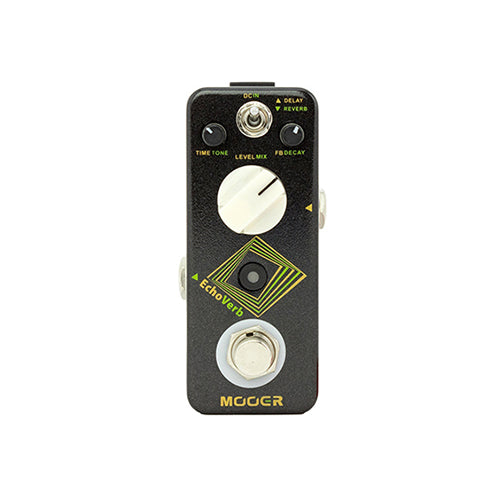 MOOER ECHOVERB DIGITAL DELAY & REVERB