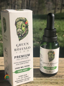 CBD Tinctures | Full Spectrum - Cool Mint / 1500 mg - Tincture