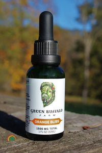 CBD Tinctures | Full Spectrum - Orange Bliss / 1500 mg - Tincture