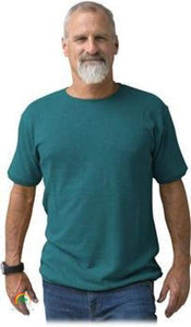 Mens Hemp Clothing | Hemp Shirt | Ultimate in Comfort - Viscose Free! - Deep Teal / Small - Mens Hemp Clothing
