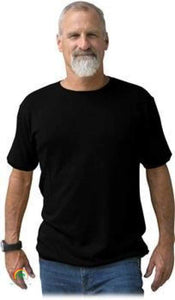 Mens Hemp Clothing | Hemp Shirt | Ultimate in Comfort - Viscose Free! - Black / Small - Mens Hemp Clothing