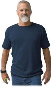 Mens Hemp Clothing | Hemp Shirt | Ultimate in Comfort - Viscose Free! - Dark Denim / Small - Mens Hemp Clothing