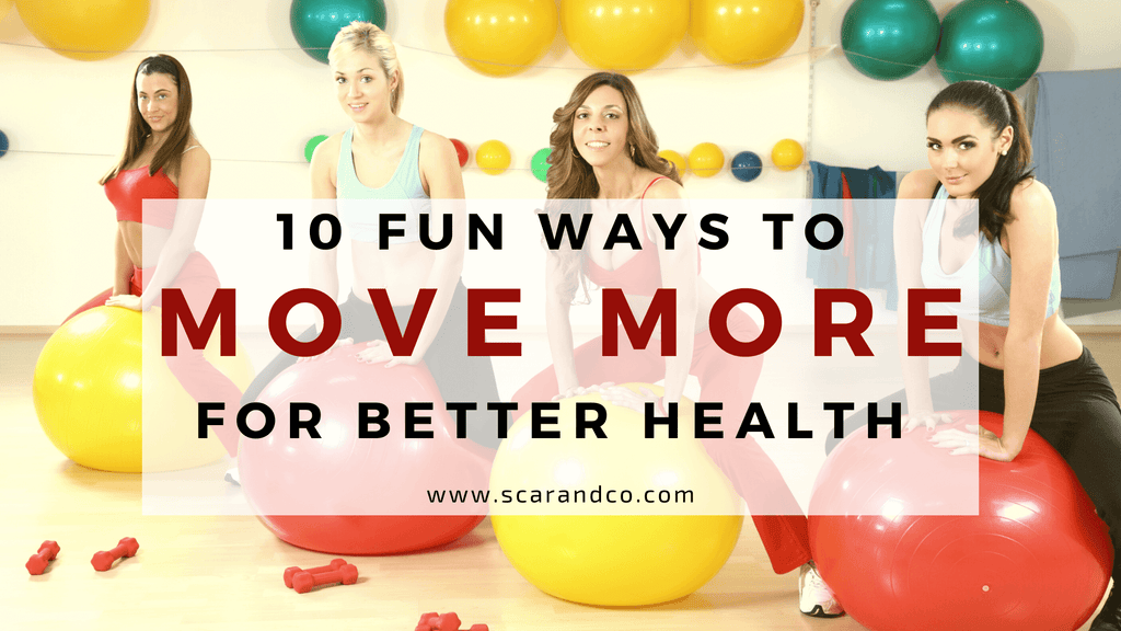 Move More Month: 10 Fun Ways to Move More for Better Health
