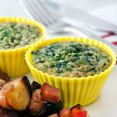 green eggs and ham breakfast muffins