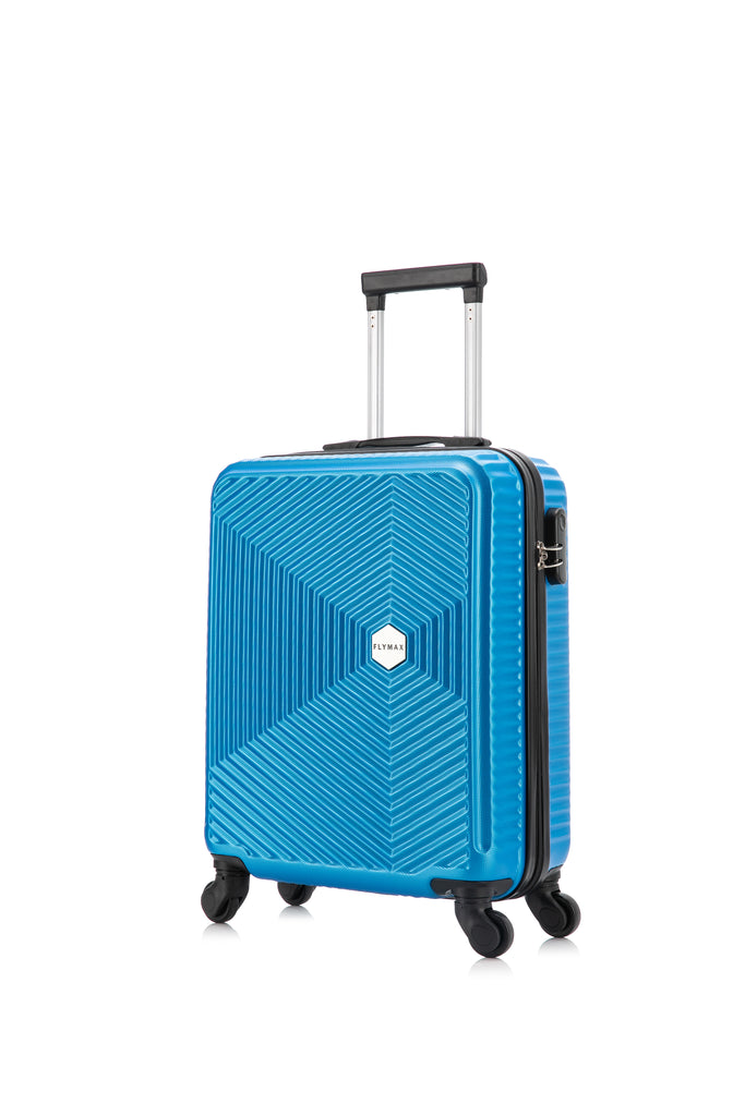 55x35x20 Ryanair & Easyjet Approved Cabin Case Carry on Flight on Board Hand Luggage Suitcase 4 wheel