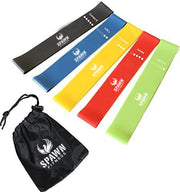 Resistance Loop Bands + Carry Bag  (Set of 5)