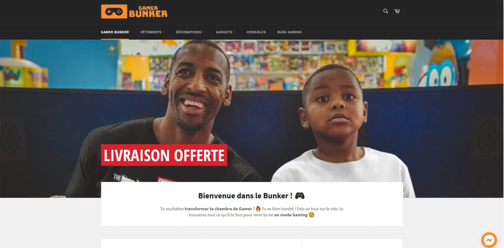 GAMER BUNKER : LE MAGASIN DES GAMERS