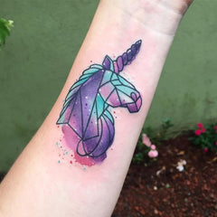 Tatouage licorne fortnite
