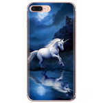 Coque Iphone Licorne Nuit