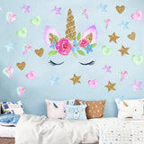 STICKERS LICORNE <br> KAWAII