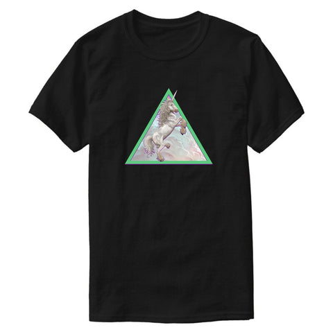 T-Shirt Licorne avec Triangle
