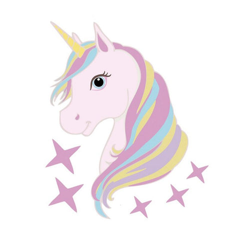 Stickers Licorne Voiture