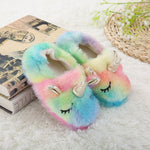 CHAUSSONS LICORNE <br> MULTICOLORE