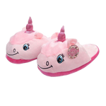 Chaussons Licorne Rose