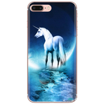 COQUE LICORNE <br> LUNE (iPHONE)