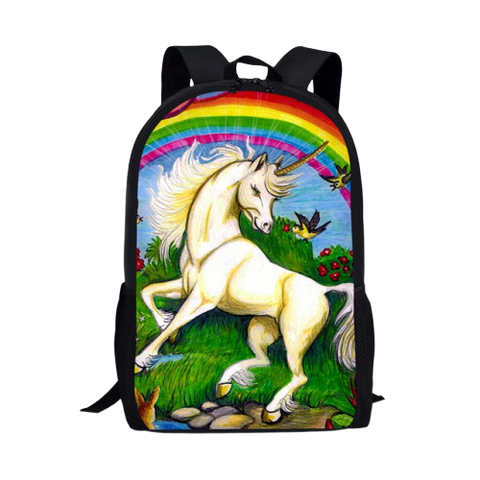 Sac à Dos Cartable Licorne