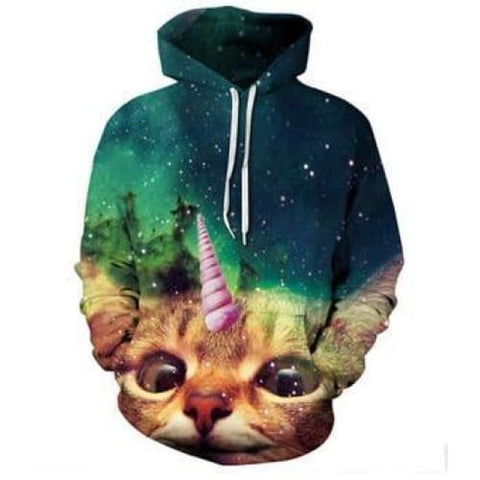 Sweat Chat Licorne