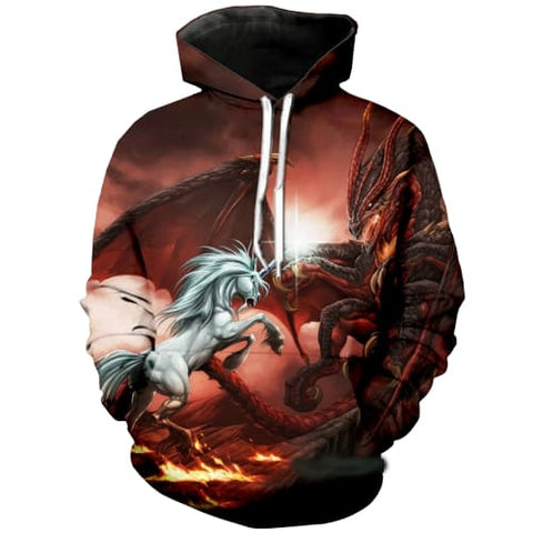 Sweat Licorne Dragon