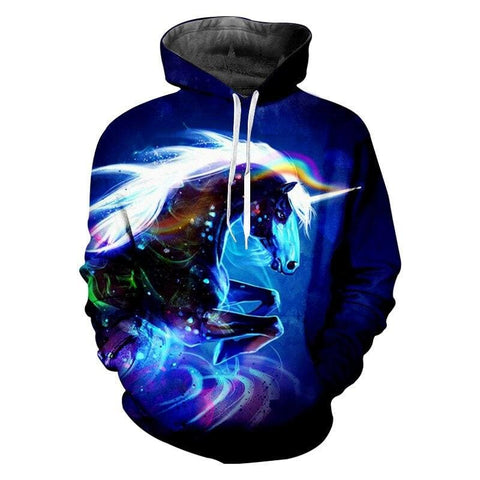 Sweat Licorne Homme