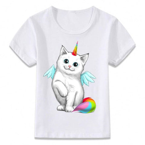 T-Shirt Chat Kawaii