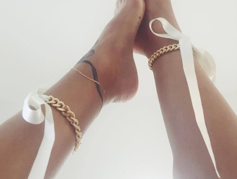 Ribbon Anklet (Pair)
