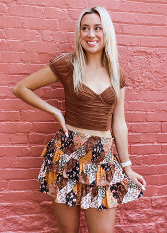 Perfectly Patched Skirt
