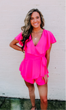 Made For More Bright Pink Romper