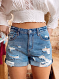 So Chill Denim Boyfriend Shorts