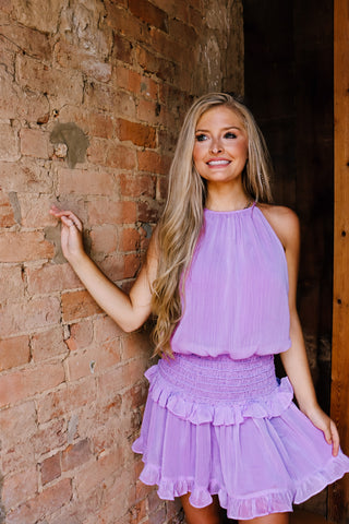 Steal the Spotlight Lavender Dress
