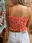 Trip To The Tropics Melon Crop Top