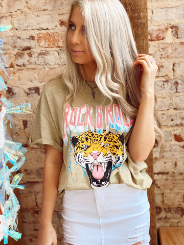 Rock My Soul Olive Tee