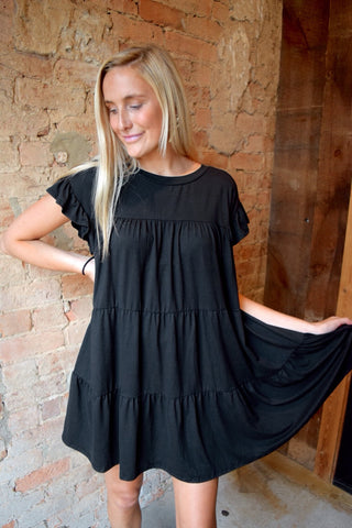 Sweet Persuasion Black Dress