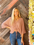 Let It Be Dusty Rose Top