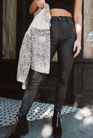 Biker Babe Leather Pants