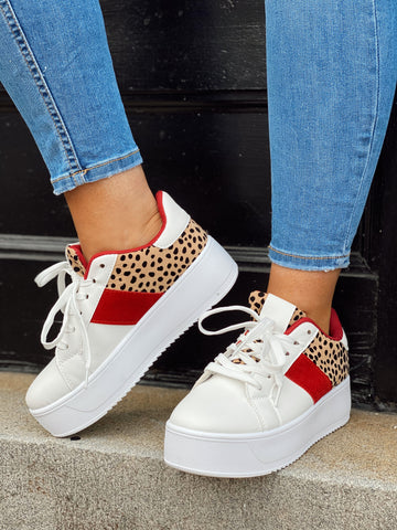 Fair Play Cheetah Sneakers