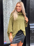 Fit For You Olive Sweater