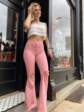 Extra Lovely Pink Flares