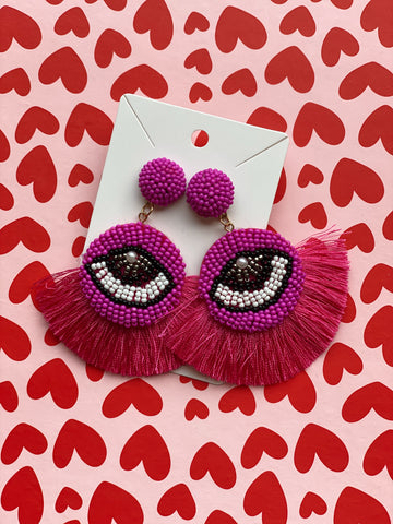 The Sophie Evil Eye Earrings