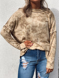 On The Go Taupe Pullover