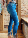 Be Seen Medium Wash Skinny Jeans