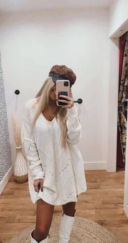Rockin' Around Cream Sweater