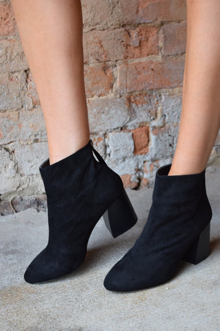 Not Your Average Black Bootie