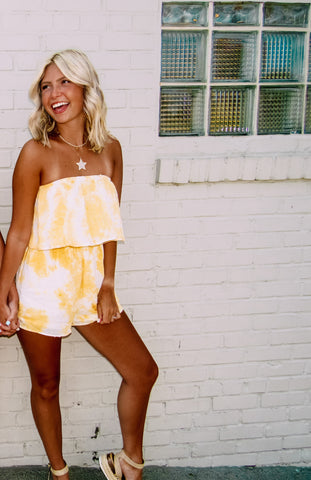 Spring Into This Yellow Romper